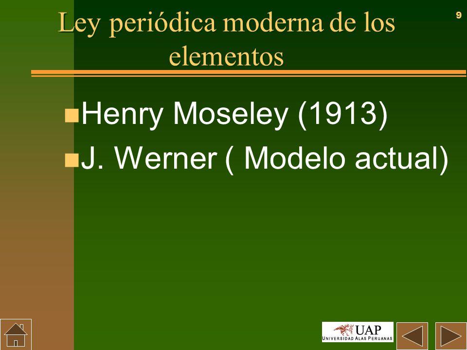 Periodicidad tabla periodica y propiedades periodicas ppt descargar ley peridica moderna de los elementos urtaz Choice Image