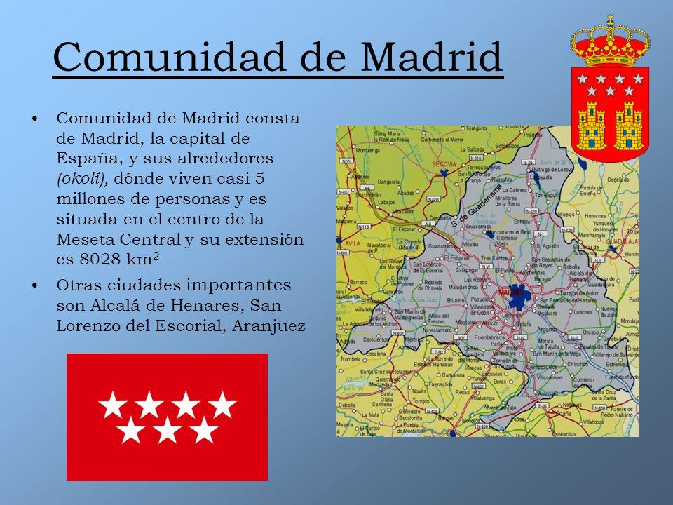 Comunidad De Madrid Ppt Descargar