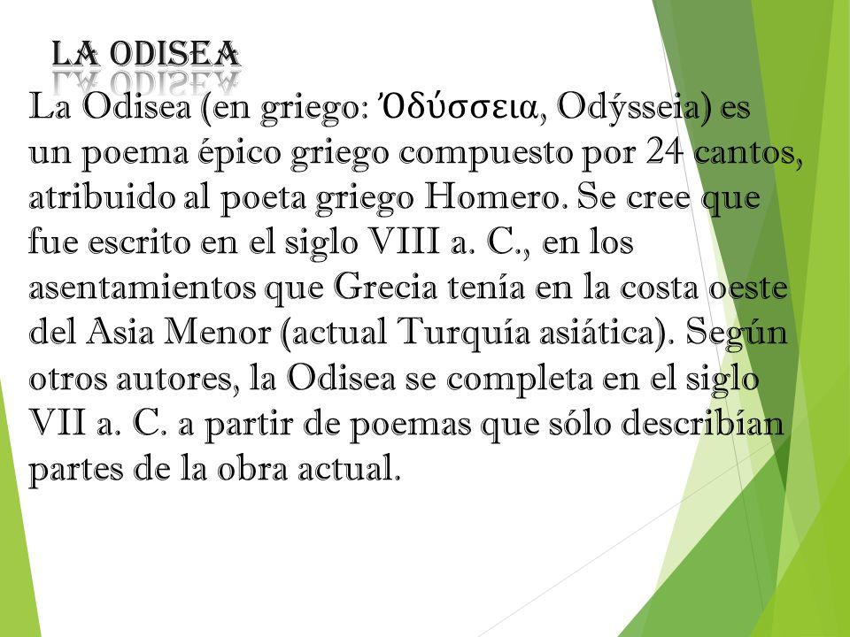 la odisea la odisea en griego