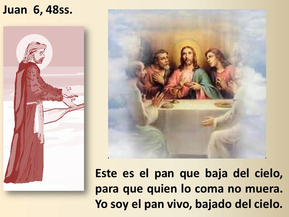 Juan 6, 48ss.