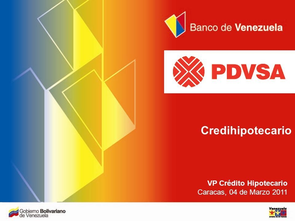 Planilla solicitud de credito hipotecario banco de for Banco exterior de venezuela