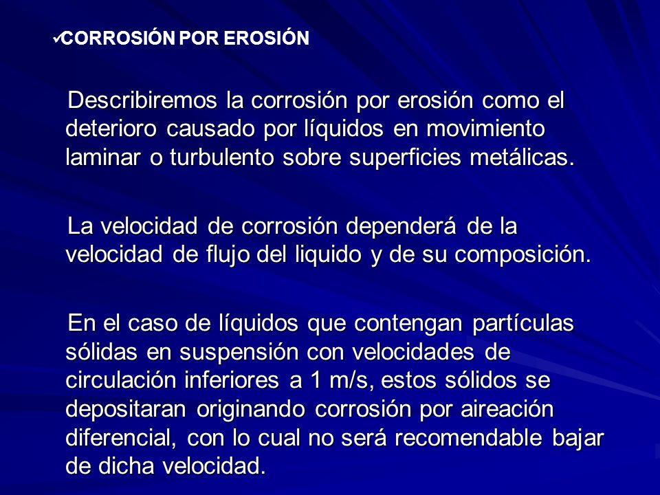 CORROSIÓN POR EROSIÓN