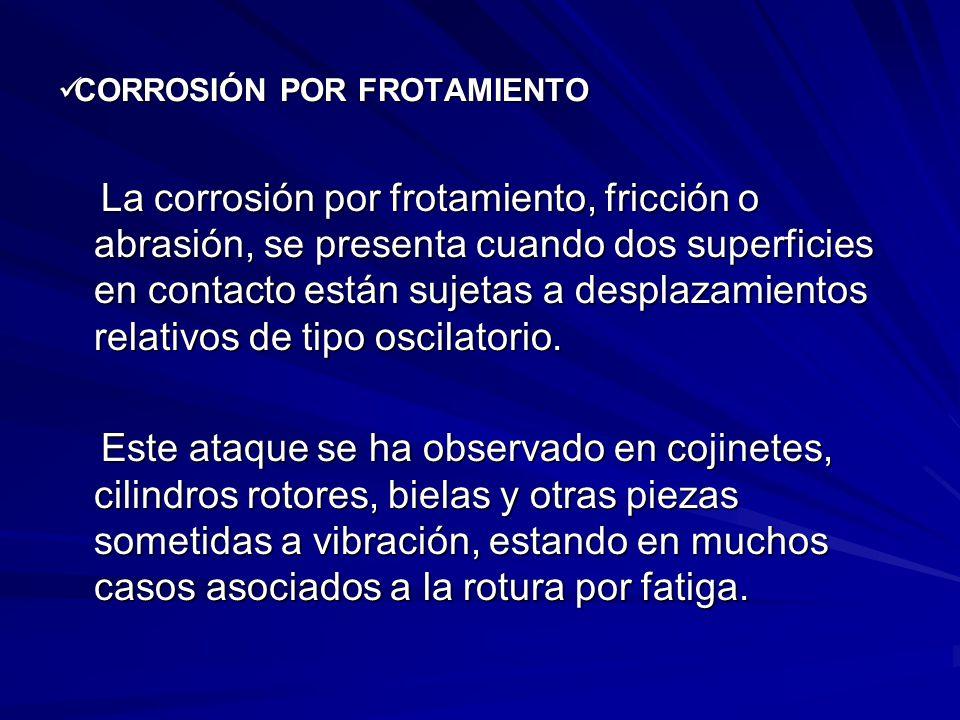 CORROSIÓN POR FROTAMIENTO