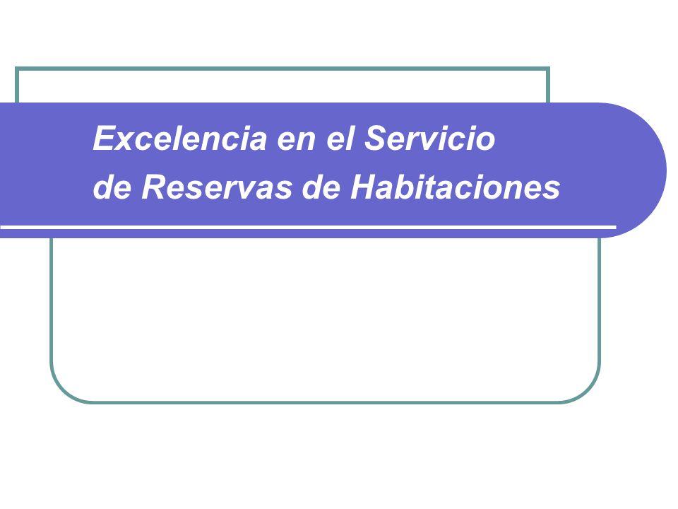 Excelencia en el Servicio de Reservas de Habitaciones