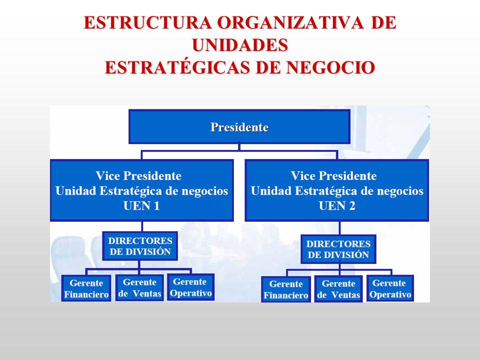 unidade strategicas de negocio Uma unidade de produto de massa que concorrerá com marcas tradicionais e líderes de mercado, nos seguintes macro-processos: custos, distribuição.
