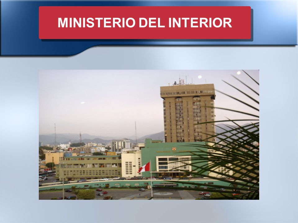 Icj gestion del portafolio inmobiliario estatal ppt for Ley del ministerio del interior