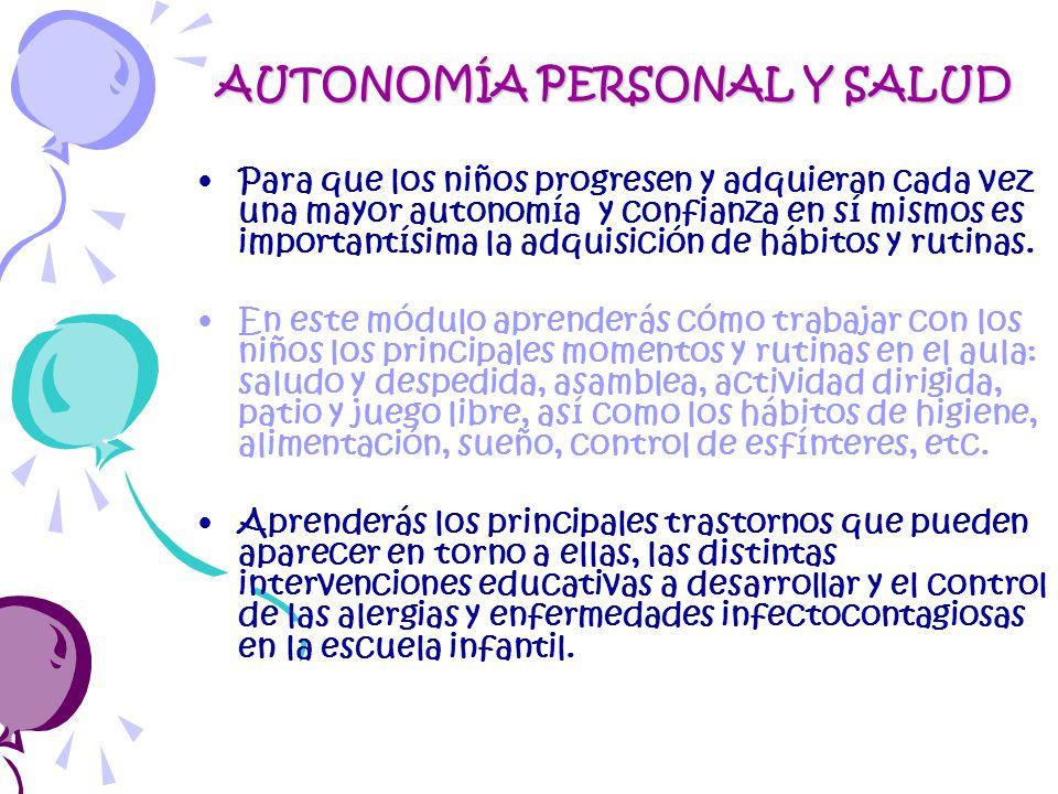 autonoma personal y salud