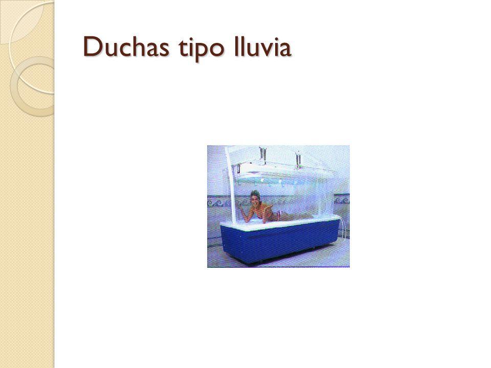 Hidroterapia t cnicas de aplicaci n ppt video online for Tipos de duchas