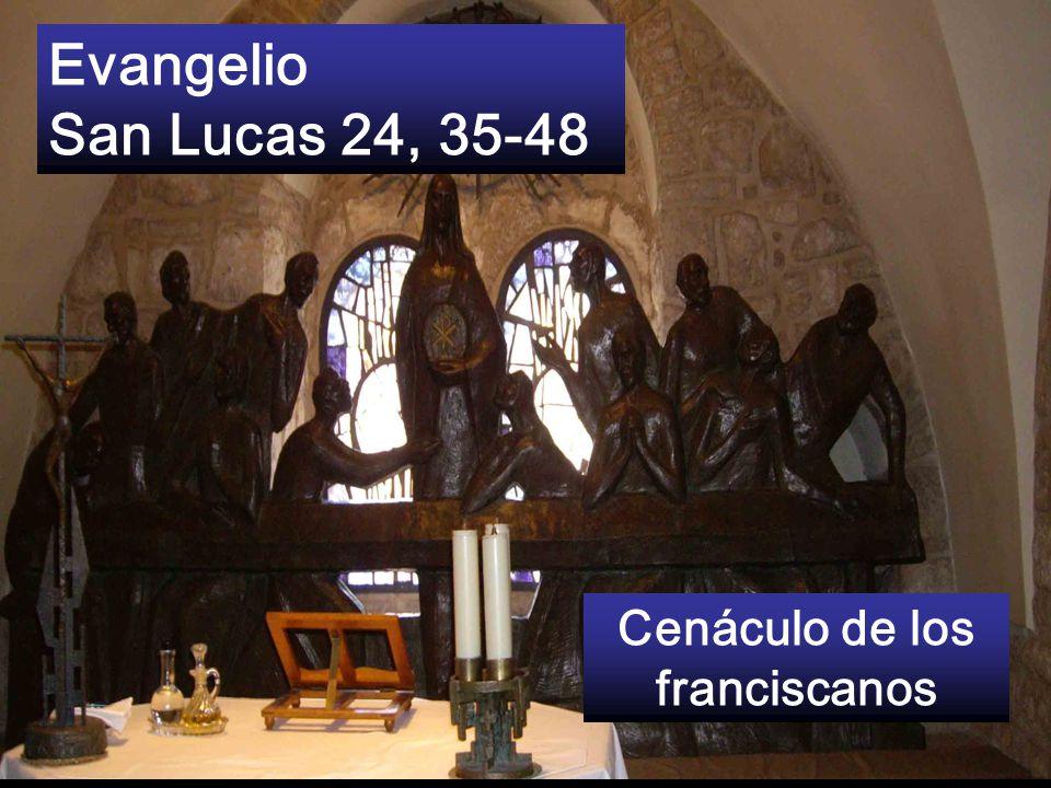 Cenáculo de los franciscanos