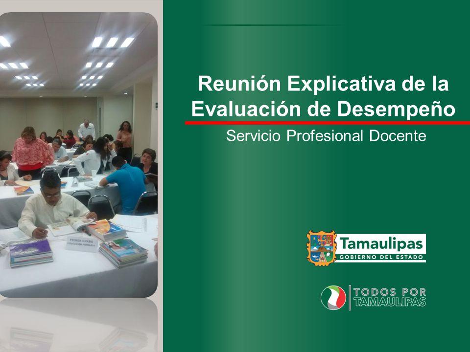 Reunión Explicativa de la Evaluación de Desempeño