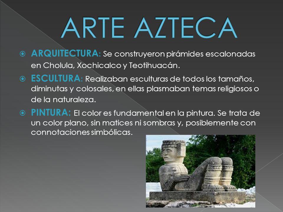 Cultura azteca jorge borja y diego de paz ppt descargar for Arquitectura y arte de los mayas
