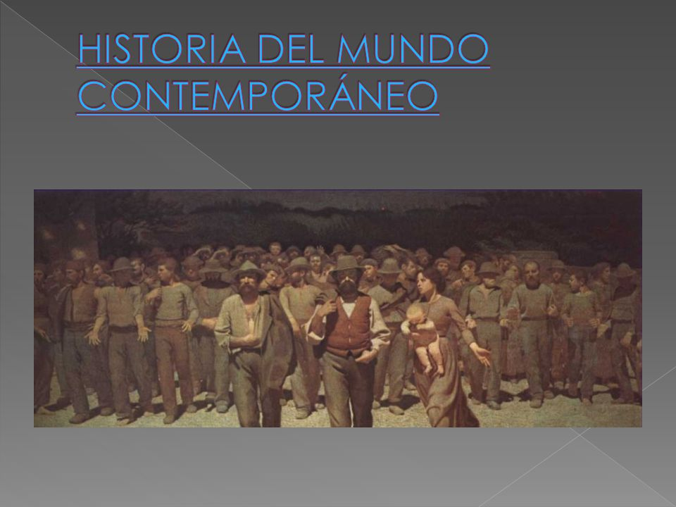 Contemporaneo ppt descargar for Caracteristicas del contemporaneo