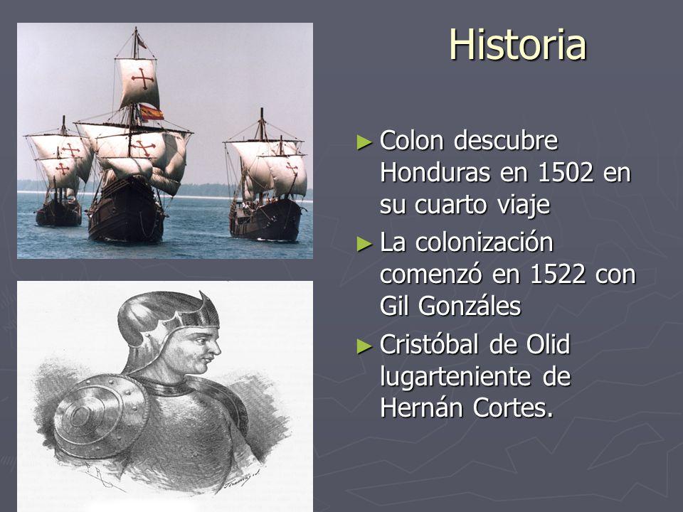 Historia colon descubre honduras en 1502 en su cuarto for Cuarto viaje de cristobal colon