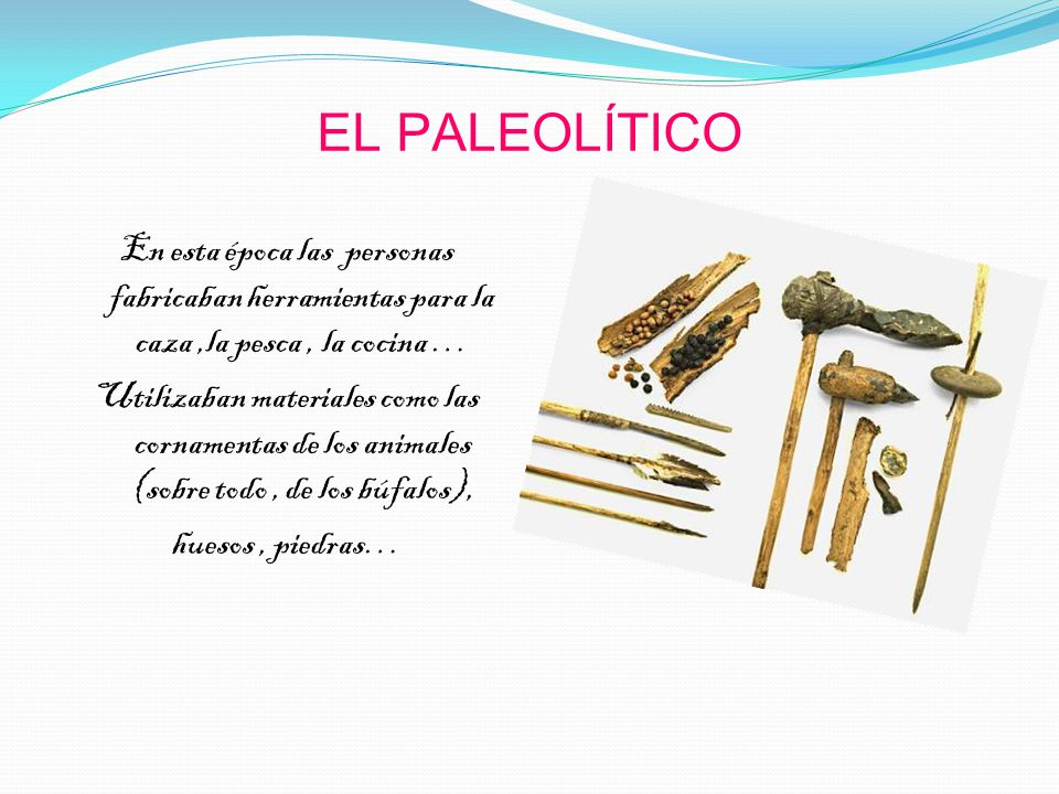 Los utensilios de la prehistoria ppt video online descargar for Materiales de cocina