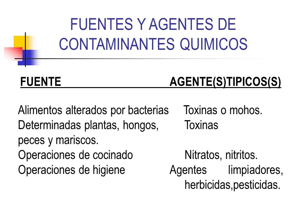 Higiene de los alimentos ppt video online descargar - Fuentes de contaminacion de los alimentos ...