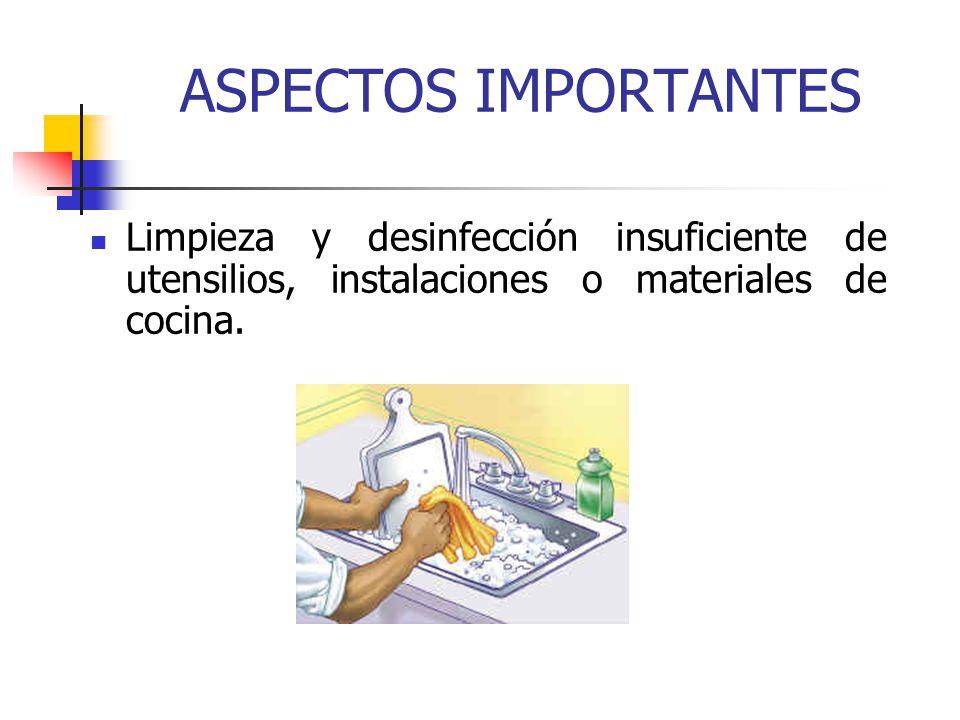 Higiene de los alimentos ppt video online descargar for Limpieza y desinfeccion de equipos y utensilios de cocina