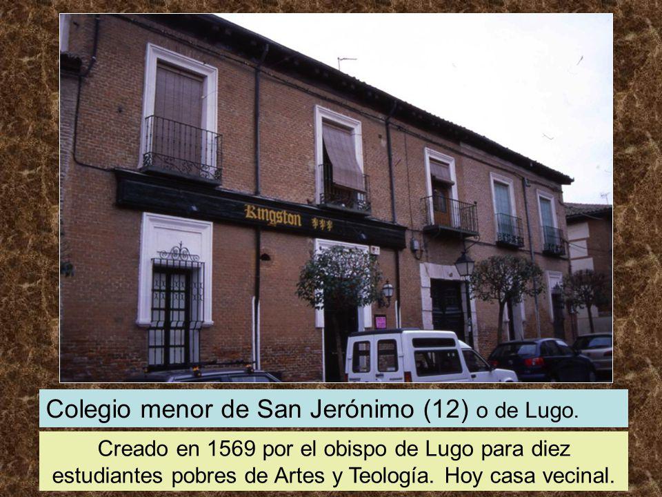 7 2 La Universidad Continuaci N Colegios Menores Del Colegio De Arquitectos  Lugo