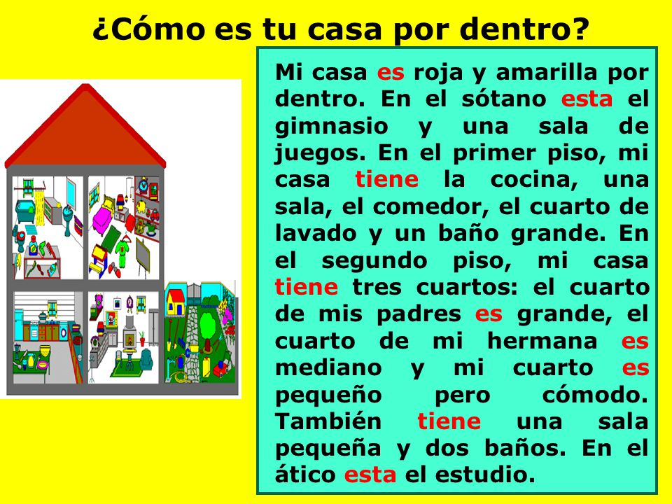 Mi casa ppt video online descargar for Mi casa es tu casa online