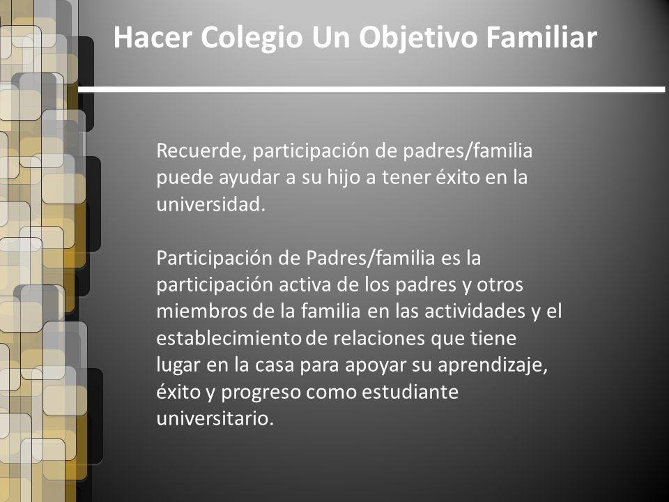 Hacer colegio un objetivo familiar ppt descargar - Agencias para tener estudiantes en casa ...