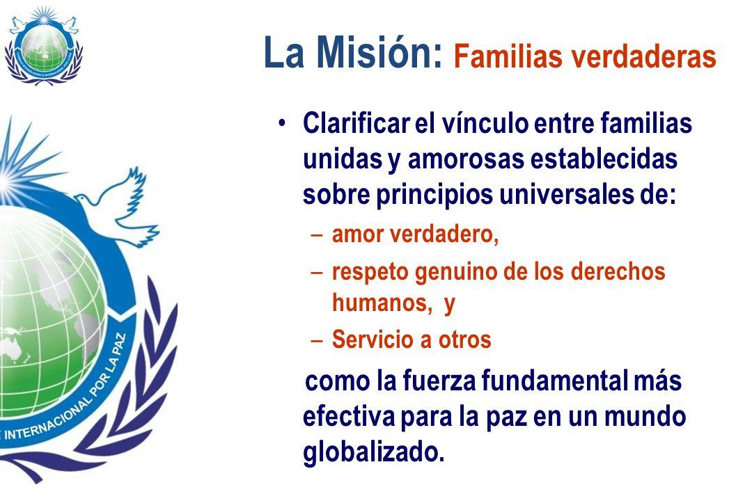 La Misión: Familias verdaderas