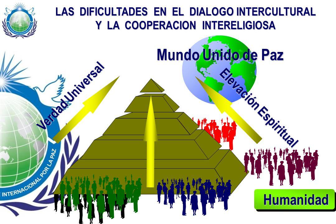 Mundo Unido de Paz Humanidad Verdad Universal Elevación Espiritual