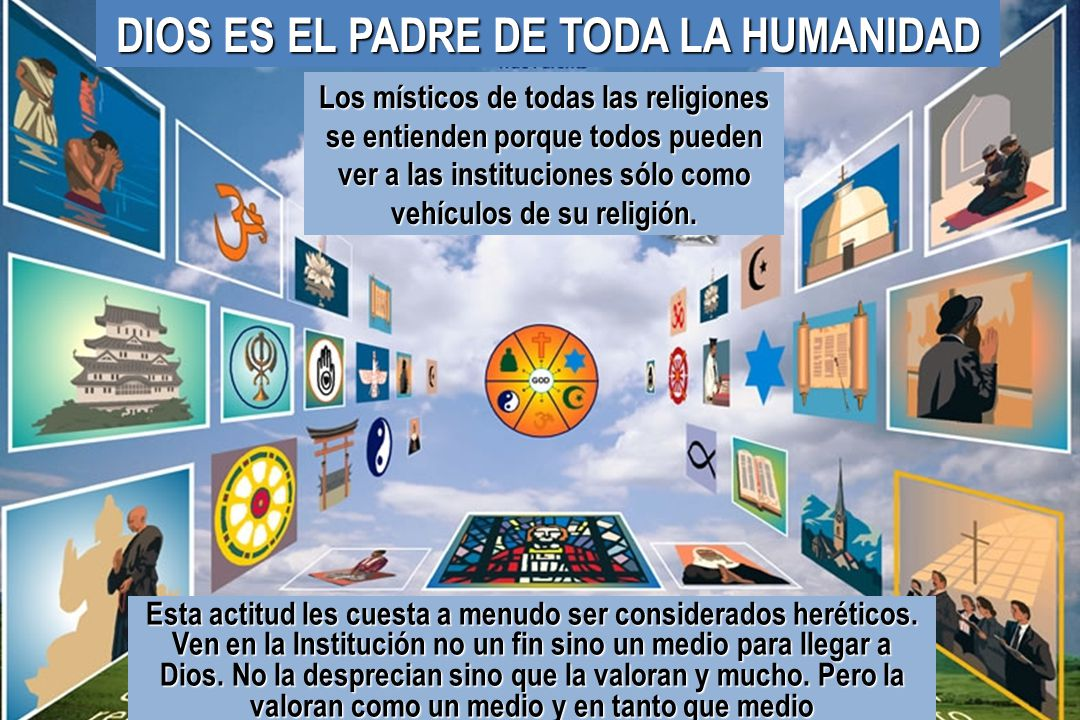 DIOS ES EL PADRE DE TODA LA HUMANIDAD