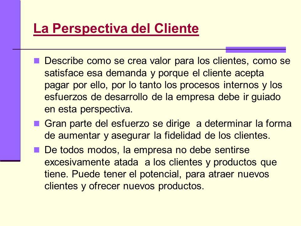 La Perspectiva del Cliente