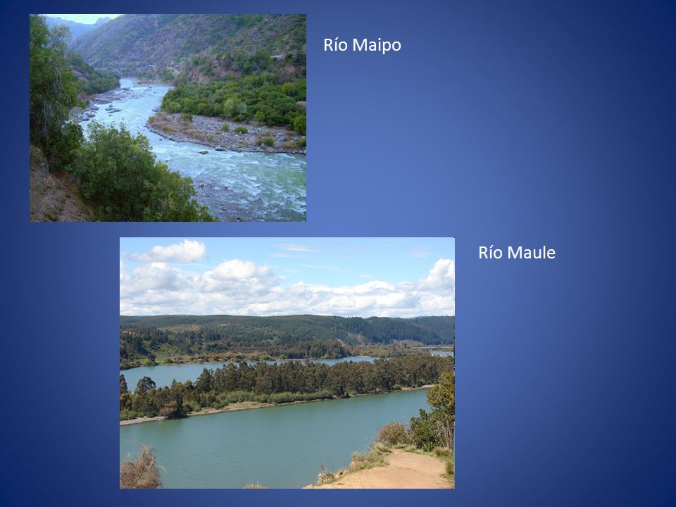 Río Maipo Río Maule