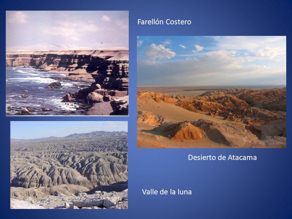 Farellón Costero Desierto de Atacama Valle de la luna