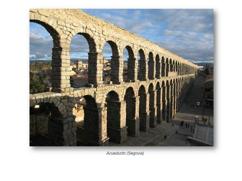 Desarrollo del arte y arquitectura romana ppt video online descargar - Acueducto de segovia arquitectura ...