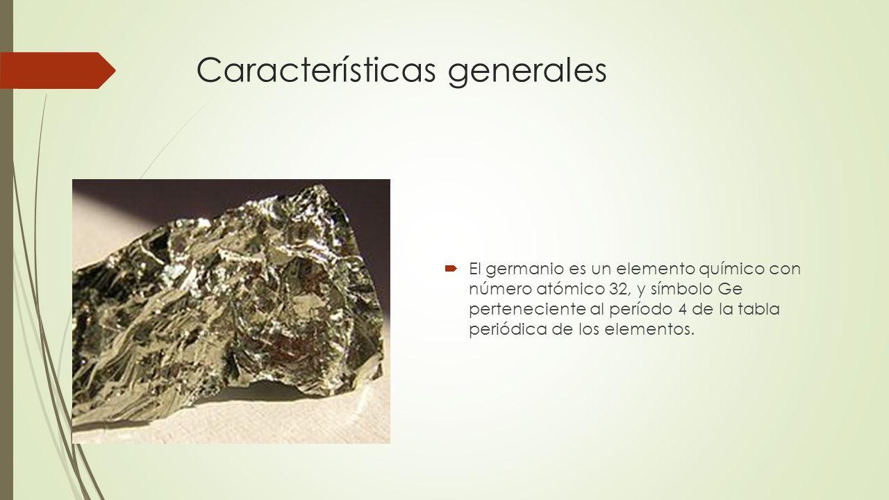 Fsica de semiconductores caractersticas del si y el ge ppt descargar 10 caractersticas generales el germanio es un elemento qumico urtaz Gallery