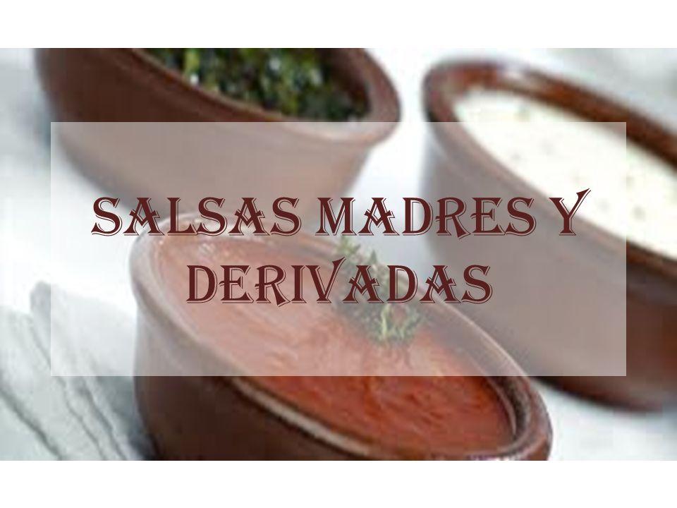 SALSAS MADRES Y DERIVADAS