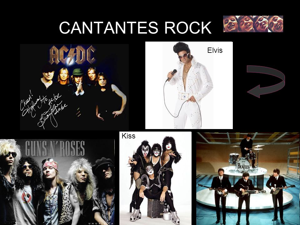 CANTANTES ROCK Elvis Kiss
