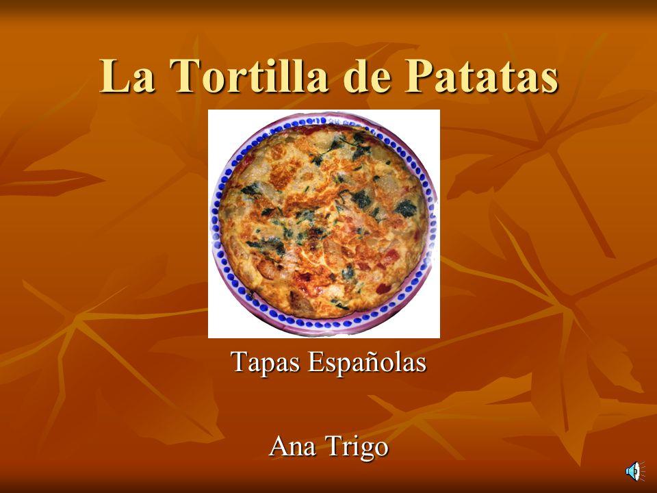 Tapas Españolas Ana Trigo