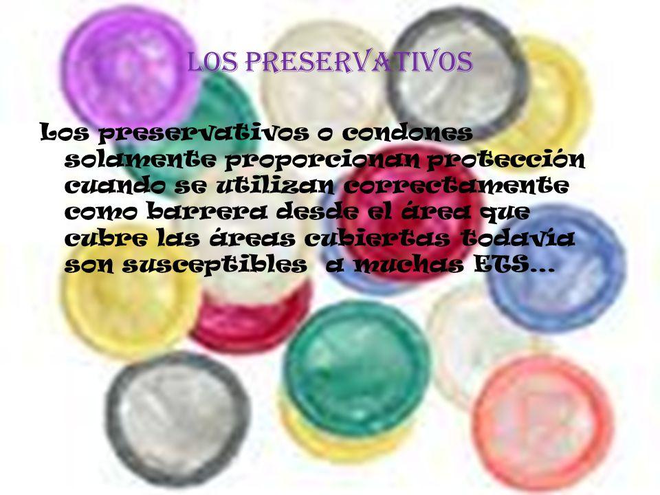 Los preservativos