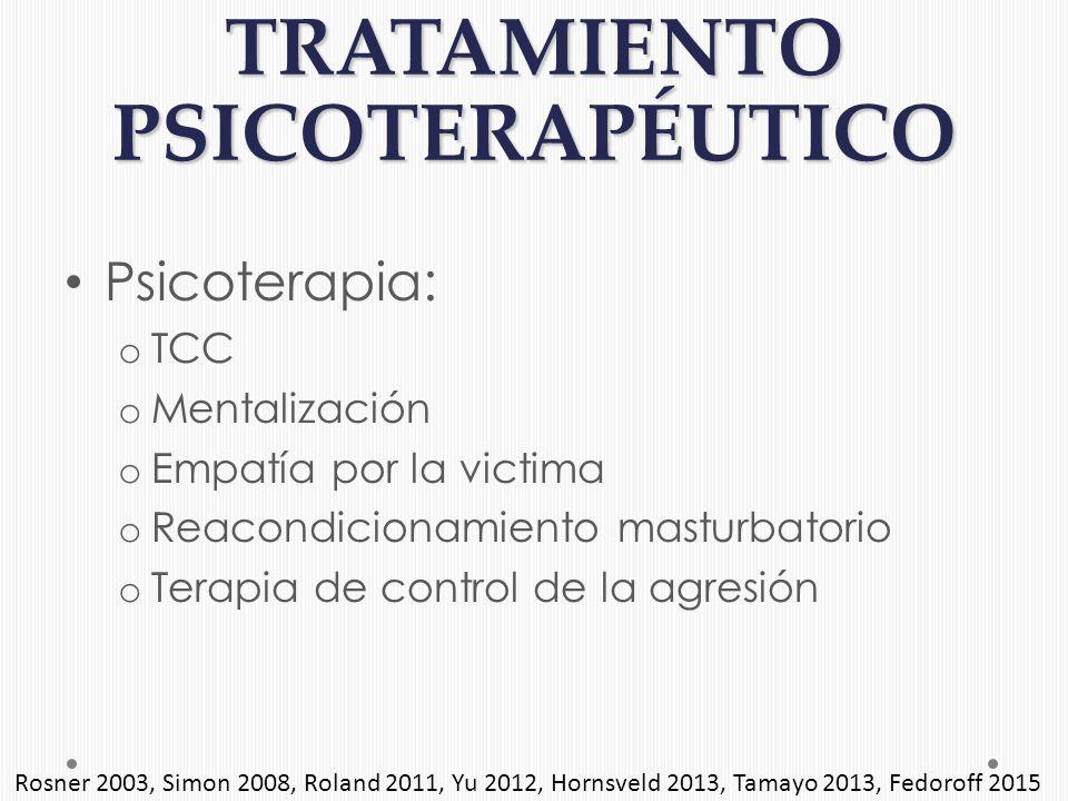 Tratamiento de delincuentes sexuales residenciales
