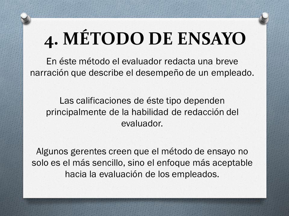 4. MÉTODO DE ENSAYO