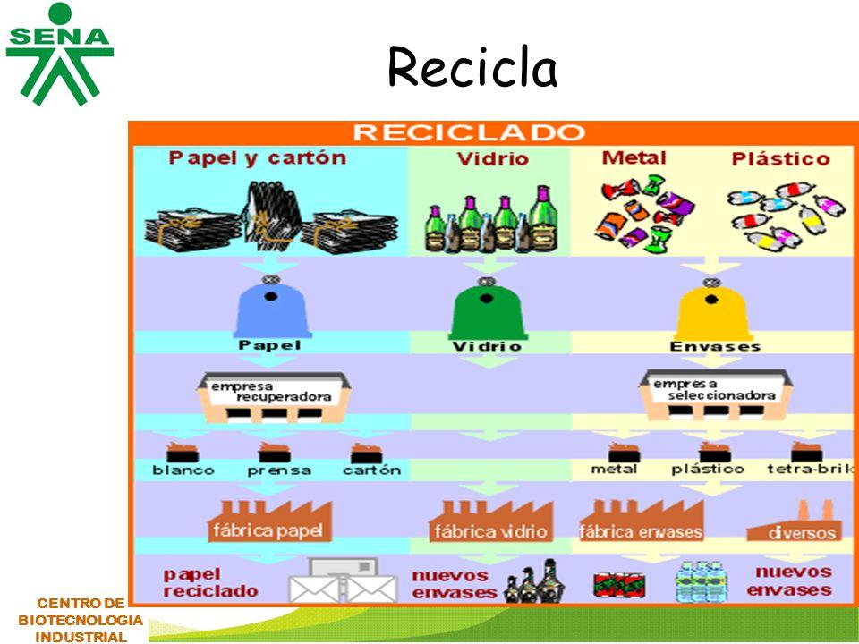 Recicla CENTRO DE BIOTECNOLOGIA INDUSTRIAL