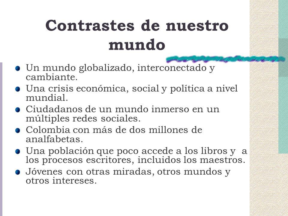 Contrastes de nuestro mundo