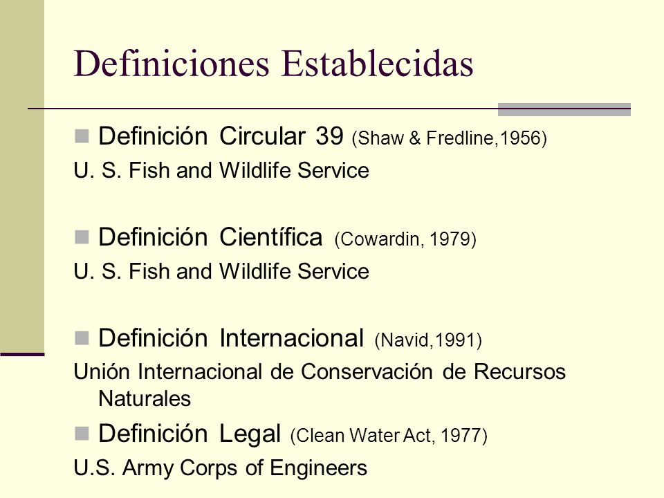 Restauraci n de humedales wetland restoration ppt for Definicion de vivero