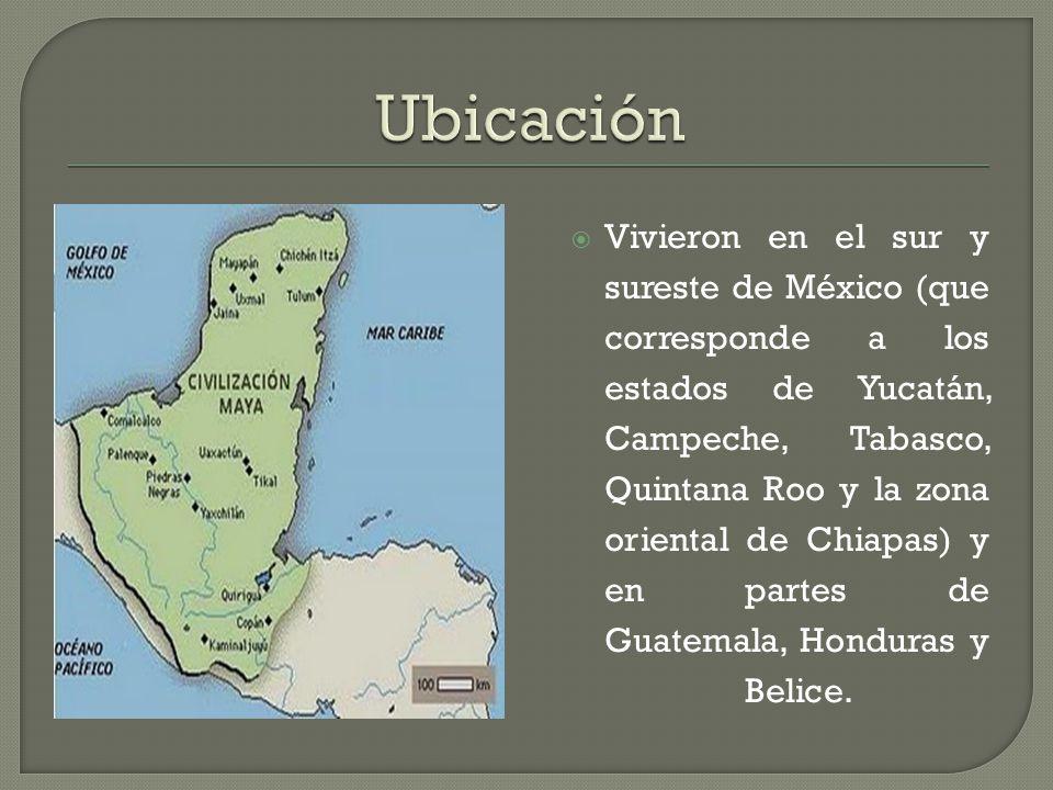 cultura maya ubicacion cultura maya ppt descargar