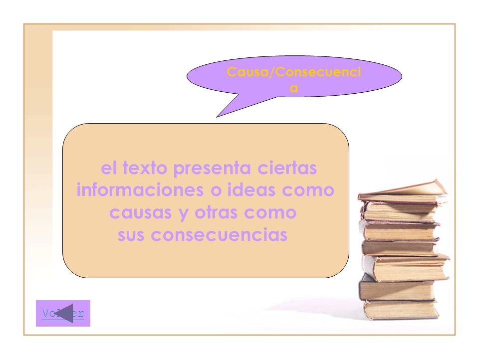 informaciones o ideas como