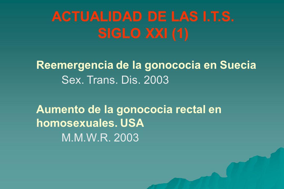 ACTUALIDAD DE LAS I.T.S. SIGLO XXI (1)