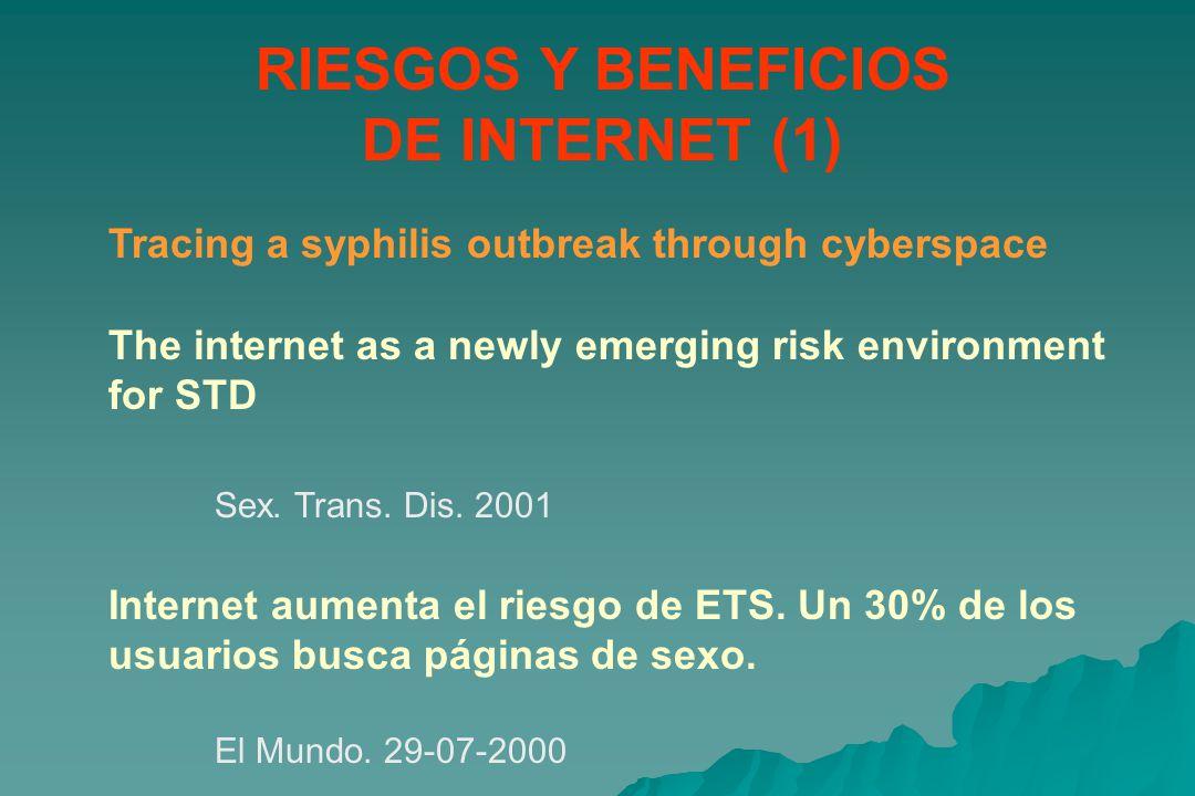 RIESGOS Y BENEFICIOS DE INTERNET (1)