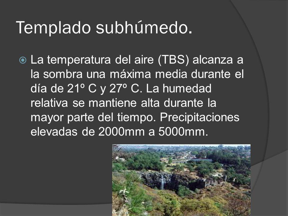 Diferentes tipos de climas en el pa s ppt video online - Humedad relativa espana ...