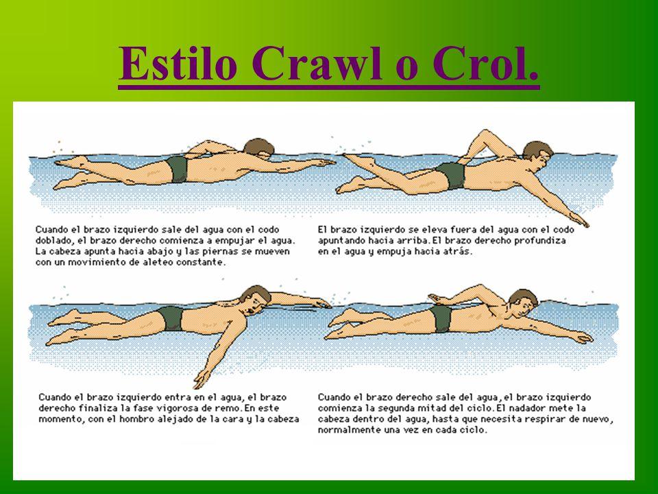 Estilo Crawl o Crol.