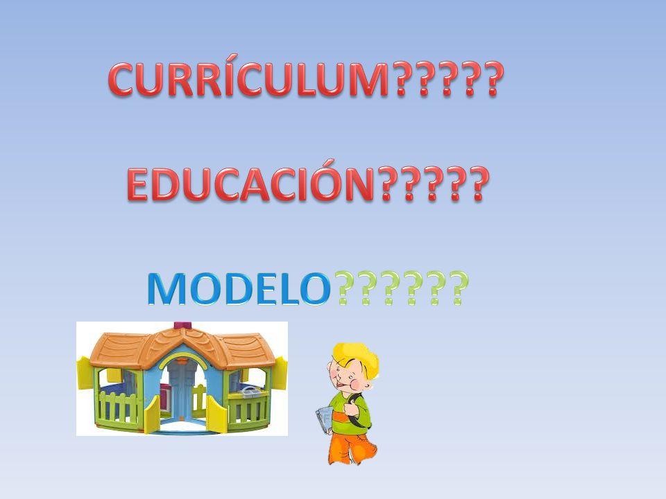 CURRÍCULUM EDUCACIÓN MODELO