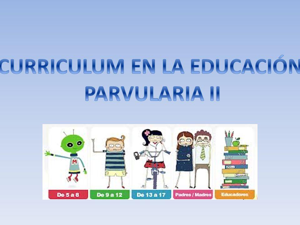 CURRICULUM EN LA EDUCACIÓN