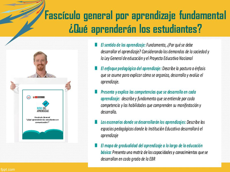 Fascículo general por aprendizaje fundamental