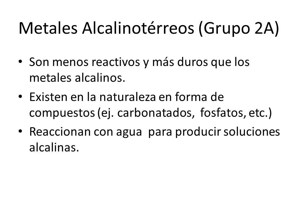 Tabla peridica ppt descargar metales alcalinotrreos grupo 2a urtaz Gallery